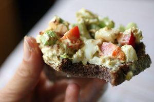 Thumbnail image for Crunchy Egg Salad