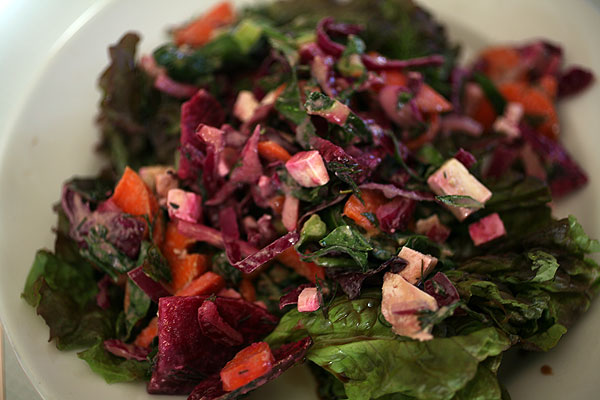 Post image for Secret Beet Salad with Tofu