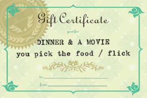 dinner-movie