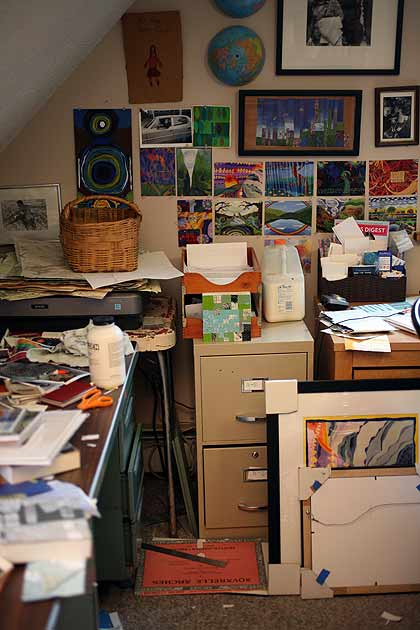 Amy Kalisher's Art Studio