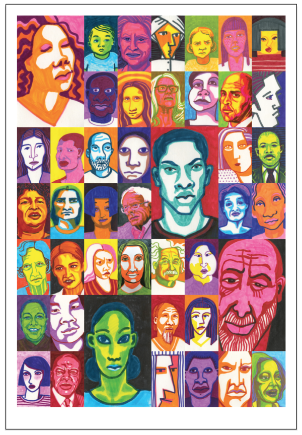 Faces - poster