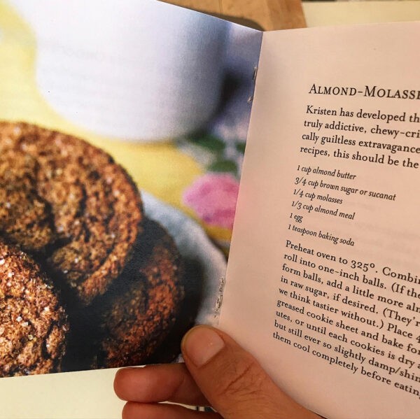Almond Molasses Cookies