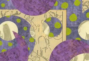 Portals - mixed media collage