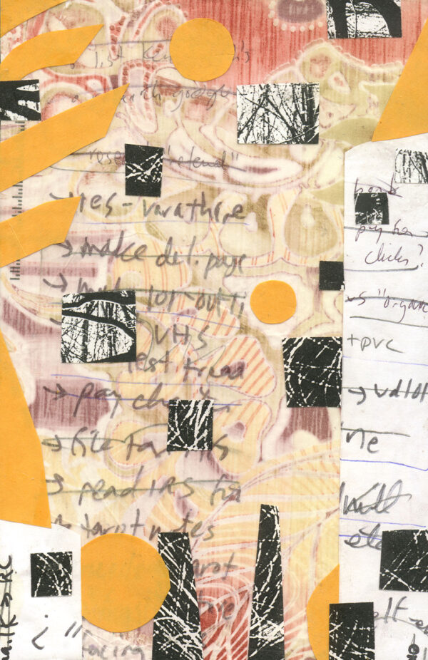 Big To Do - mixed media collage