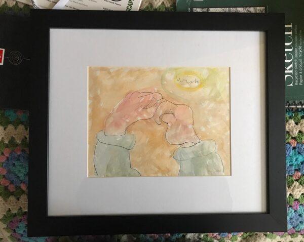 Wish - framed art