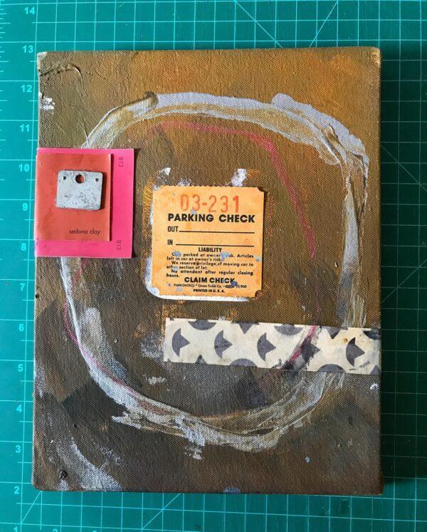 03-231: mixed media on canvas